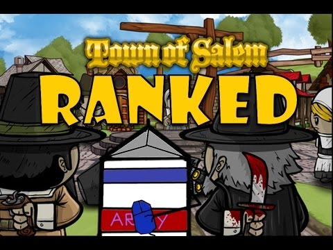 Town of Salem Ranked | Escort Gameplay | Sleeping With A Celeb