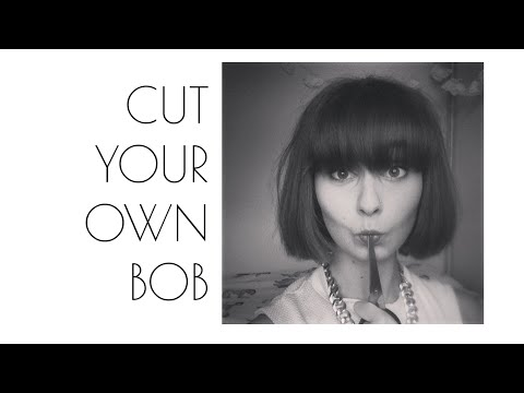 How To: Bob Haircut at Home | DIY Short Hair