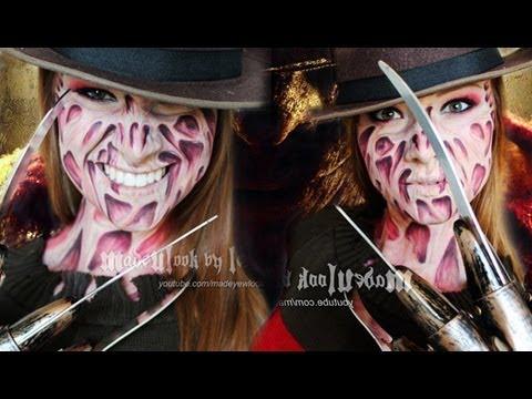 Freddy Krueger Makeup Tutorial (NO LATEX, NO MESS! Drugstore ...