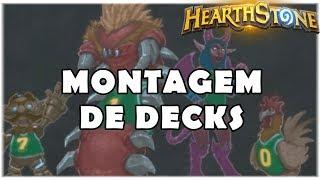 HEARTHSTONE - TAVERNA MONTAGEM DE DECKS!