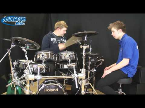 UK Exclusive! Roland TD-30 V-Drums Demo - First Look