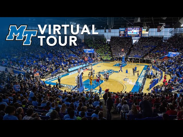Blue Raider Athletics | MTSU Virtual Campus Tour