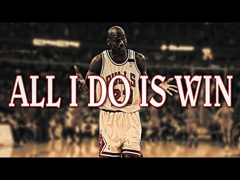 Michael Jordan  All I Do Is Win ᴴᴰ 2017 Mix