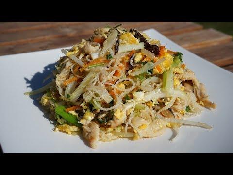 mei-fun---vermicelles-de-riz-sautés-:-un-plat-équilibré---cooking-with-morgane