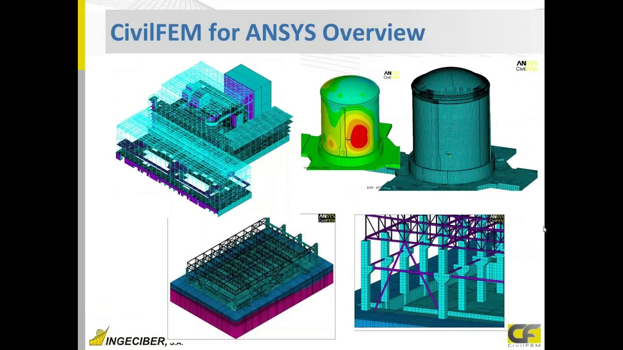 CivilFEM for ANSYS 19.1 Highlights and Software Overview