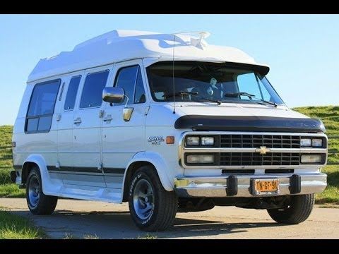 the sound of our chevrolet chevy van g20 5 7 l v8 youtube. Black Bedroom Furniture Sets. Home Design Ideas