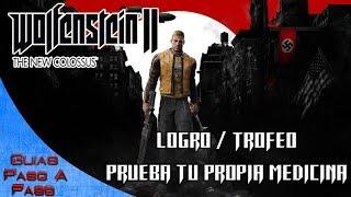 Video de Wolfenstein 2: The New Colossus | Logro / Trofeo: Prueba tu propia medicina (Ausmerzer)