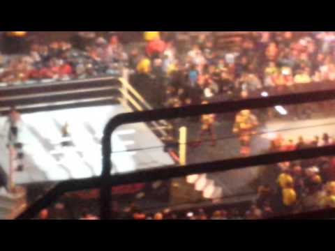 Wwe live at the smoothie king center the acensions
