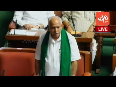 BS Yeddyurappa Speech in Assembly | CM Kumaraswamy Floor Tes