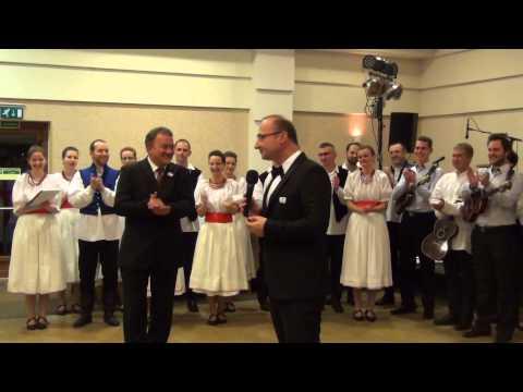 Tamburazenekar előadásában a magyar, horvát és gradistyei horvát himnuszok