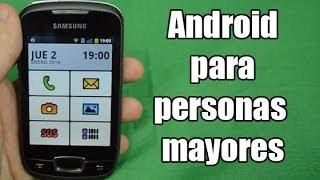 Tutorial: Preparar un smartphone para una persona mayor