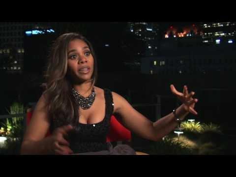 "About Last Night: Regina Hall ""Joan"" On Set Movie Interview"
