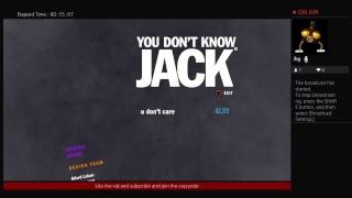 Playing the jackbox|the jackbox