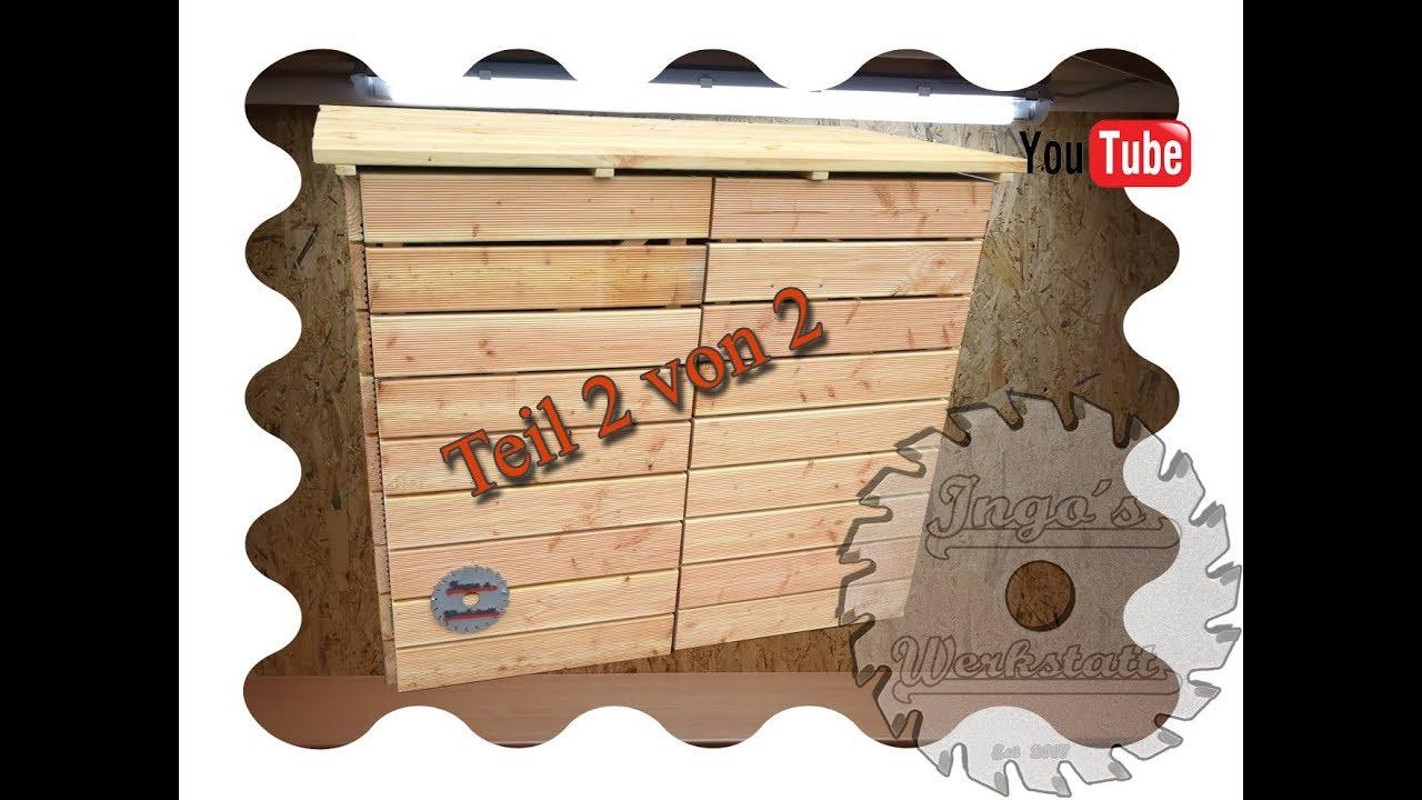 die mülltonnen - garage teil 1 von 2 - youtube