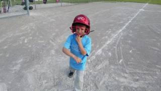 TEE BALL FLUSHING MICHIGAN TEAM SALEM CONSTRUCTION 2017