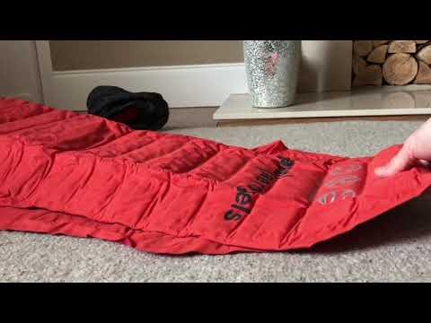 New Sleep Mat Unpacking