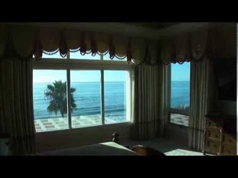 Blackout Curtains On Motorized Drapery Track Youtube