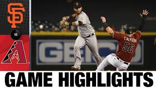 Giants vs. Diamondbacks Game Highlights (8/4/21)
