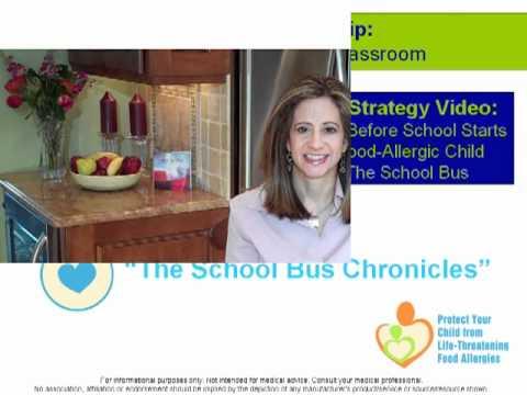 Food Allergies at School: avoid allergens in classroom