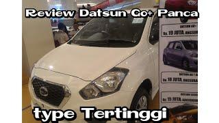 Review Datsun Go plus panca manual 5speed type tertinggi sebelum facelift 2018 Indonesia