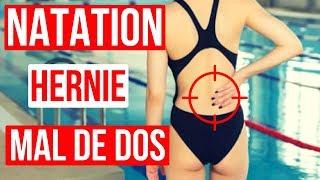 🤕 MAL AU DOS | Hernie discale | Ce que tu ne DOIS PAS FAIRE en NATATION 🏊♂️