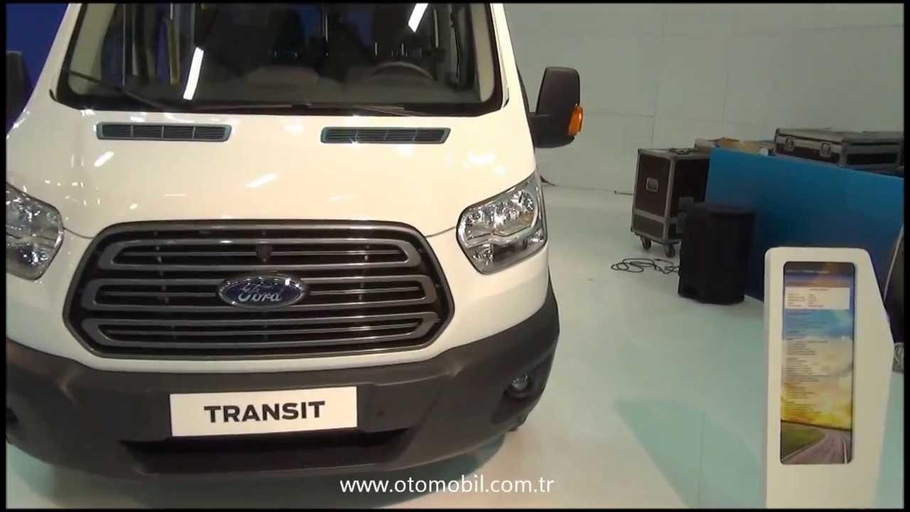 yeni ford transit 2014 - İstanbul comvex fuarı - youtube