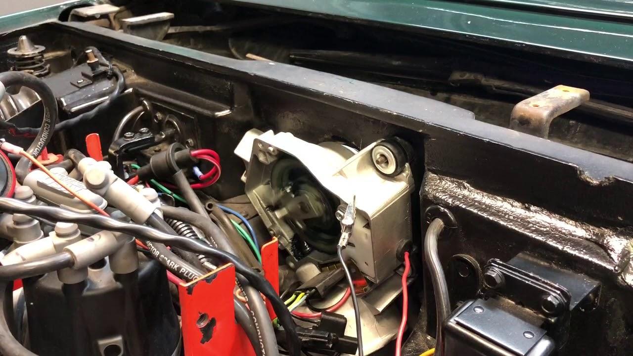 C3 corvette wiper motor test - YouTube