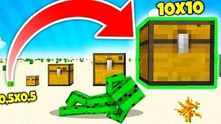 JAK ZROBIĆ OGROMNĄ SKRZYNKĘ 10x10 w MINECRAFT!!! - Colossal Chests Mod