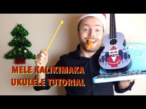 Mele Kalikimaka - Christmas Ukulele Tutorial