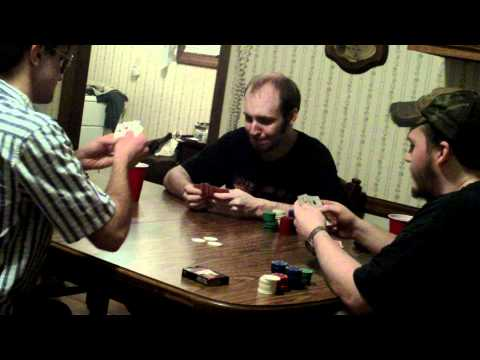 Playing 5 Card Draw Poker With Friends
