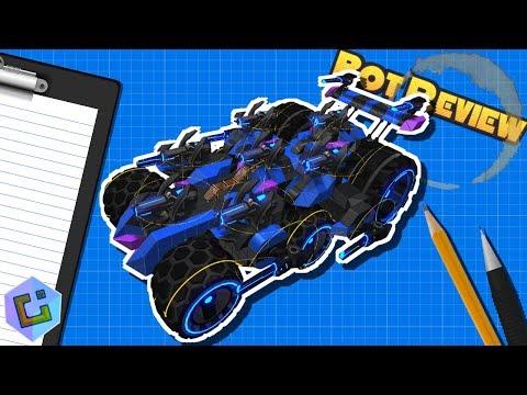 Robocraft - Bot Review: DB16 Midnight