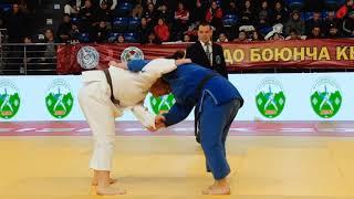 Спорт. Дзюдо. Чемпионат Кыргызстана-2020. Финал (Женщины)