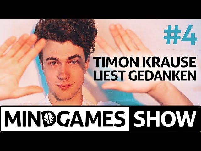 """Unfassbar! Mentalist beeinflusst Zuschauer online bei der """"Mindgames Show"""" mit Timon Krause"""