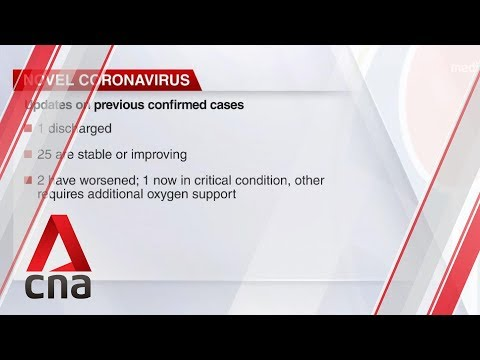 2 more confirmed cases of coronavirus in Singapore