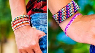 36 BRACELETS DIYs AND CRAFTS | Summer outfit with no effort!