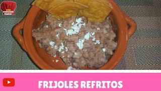Frijoles Refritos receta- Complaciendo Paladares