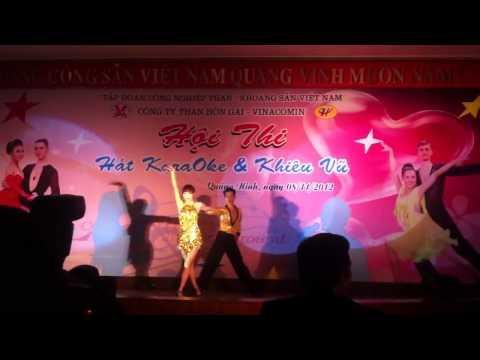 Cuộc thi hát karaoke và khiêu vũ thể thao của công ty Than Hòn Gai 2012