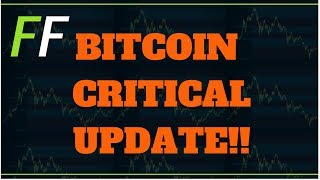 ✅ BITCOIN PRICE TECHNICAL ANALYSIS CRITICAL UPDATE