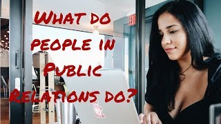 Public Relations Job | Day in the Life