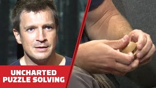 Nathan Fillion Solves Wood Puzzles While Telling Us Why He Lov…