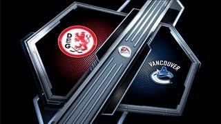 NHL 13 - Gameplay HD - Vancouver Canucks vs. DEG Metro Stars