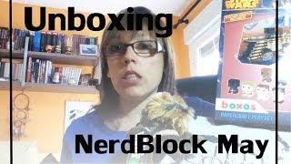 Unboxing NerdBlock May 2014