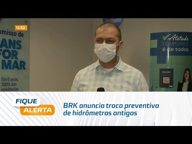 BRK anuncia troca preventiva de hidrômetros antigos em Maceió