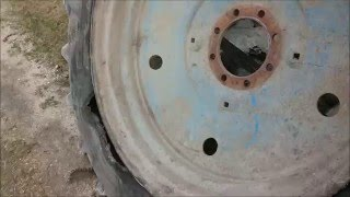 МТЗ шины взрыв / Tractor MTZ tires explosion / Mtz wybuch opony(, 2015-12-06T10:43:13.000Z)