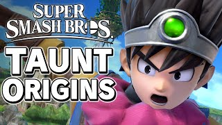 Super Smash Bros. Taunt Origins - Fighter Pass 1 – Aaronitmar