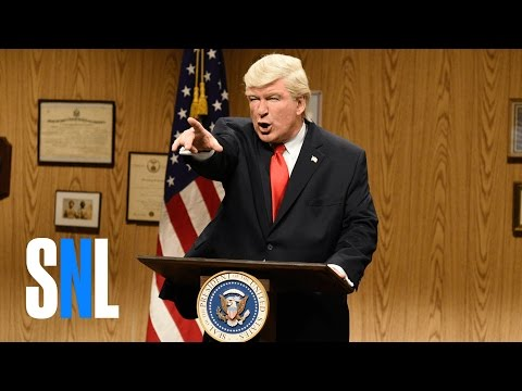 Donald Trump at the Mine Cold Open - SNL