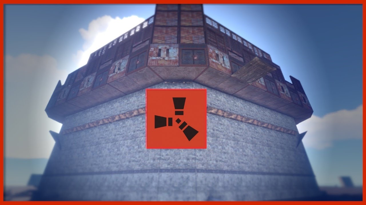 Rust Raids Huge Clan Base Sanctum Youtube
