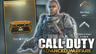 Advanced Warfare: Lvl. 1 Advanced Supply Drop Opening!