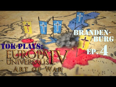 Tok plays EU4: Art of War - Brandenburg ep. 4 - North German Domination