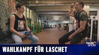 Fabian Köster trifft Armin Laschets größten Fan. Und Ralf Moeller.